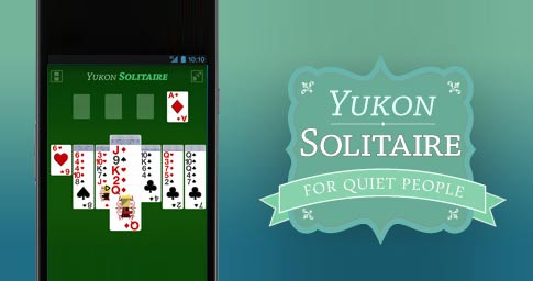Screenshot of Mobile Solitaire Card Game